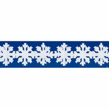 Sneeuwvlokken slinger winterversiering