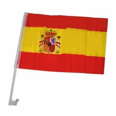 Spaanse versiering auto vlaggetje
