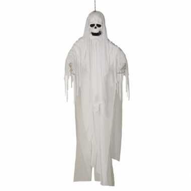 Sprekend spook 180 cm met licht en beweging halloween versiering