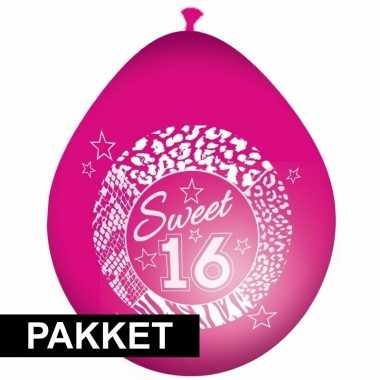 Sweet 16 verjaardag versiering pakket