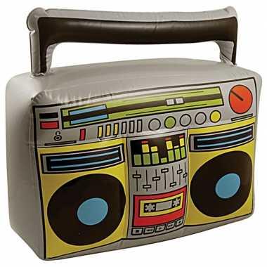 Thema muziek versiering radio opblaasbaar