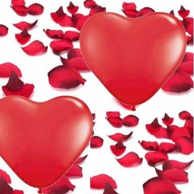 Valentijn thema pakket met love versiering