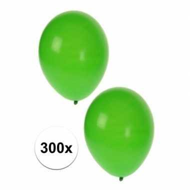 Versiering ballonnen groen 300 st