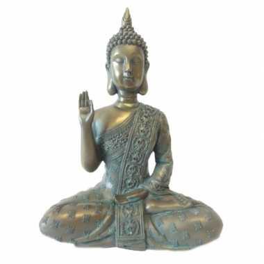 Versiering boeddha thais brons 28 cm