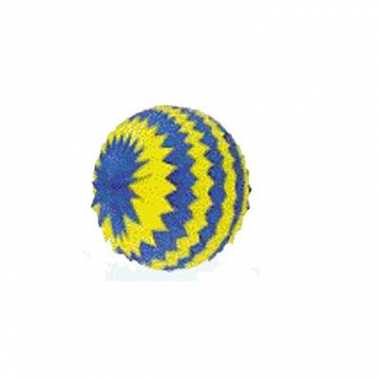 Versiering bol blauw/geel