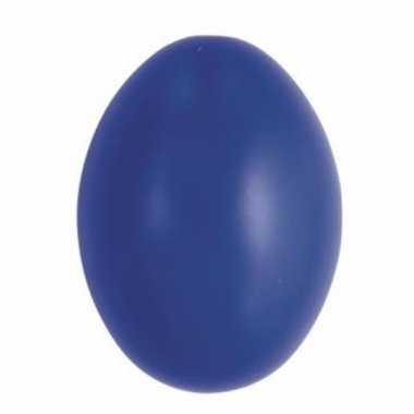Versiering eieren donkerblauw 6 cm 25 stuks