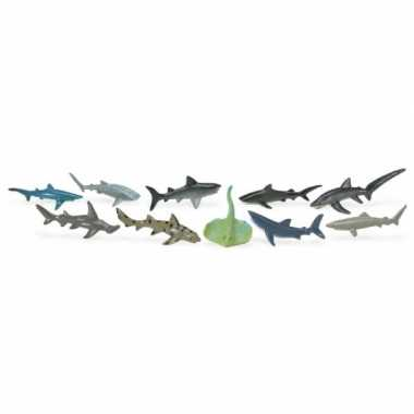 Versiering haaien 10 stuks