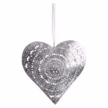 Versiering hart hanger groot type 2