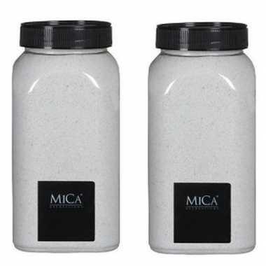 Versiering/hobby zand wit 2 kg