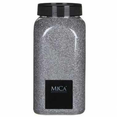 Versiering/hobby zand zilver 1 kg