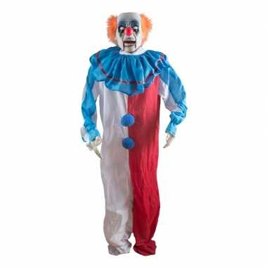 Bewegende Halloween Afbeeldingen.Versiering Horrorclown Kan Bewegen 180 Cm