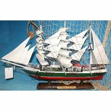 Versiering houten model schip r.rickmers 50 cm