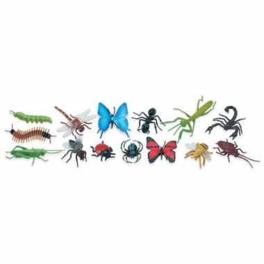 Versiering insecten 14 stuks