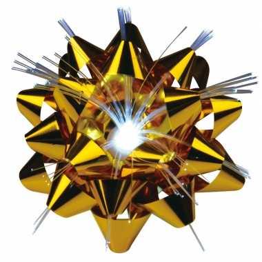 Versiering kadostrik goud met lichtje for Versiering goud