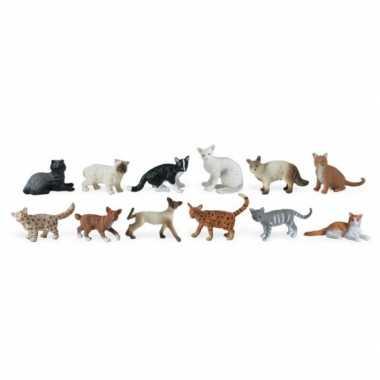 Versiering katten 12 stuks