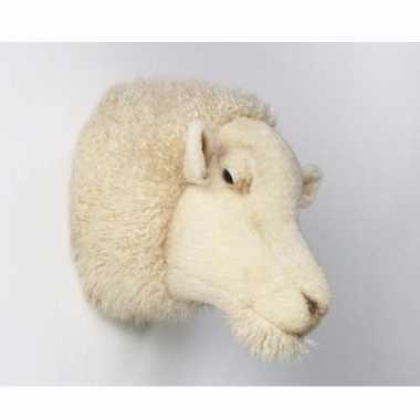 Versiering kop wit schaap