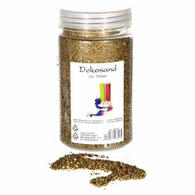 Versiering korrelzand goud 500 gram