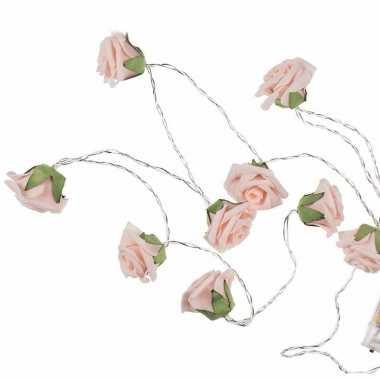 Versiering led verlichting rozen 140 cm