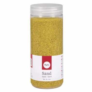 Versiering materiaal geel zand