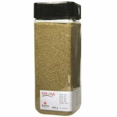 Versiering materiaal goud zand