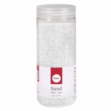 Versiering materiaal wit zand