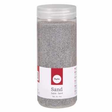 Versiering materiaal zilver zand