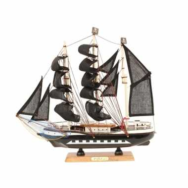 Versiering model piratenschip 34 cm