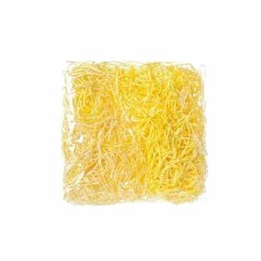 Versiering paasgras geel 45 gram
