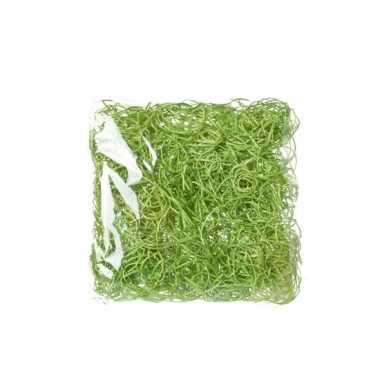 Versiering paasgras groen 45 gram