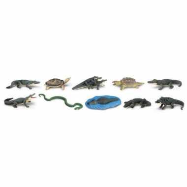 Versiering reptielen 12 stuks