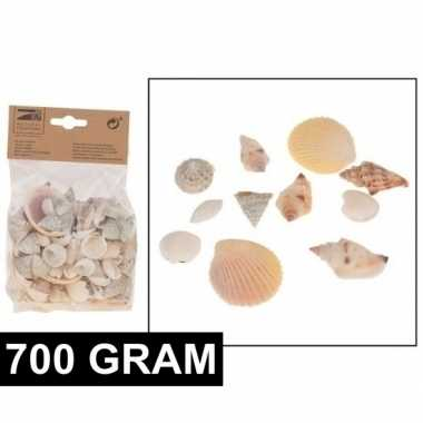 Versiering schelpen mix 700 gram