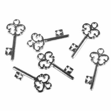 Versiering sleutels 24 stuks