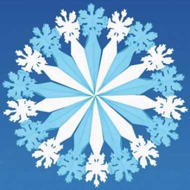Versiering sneeuwvlok
