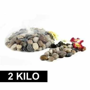 Versiering steentjes in netje 2 kg