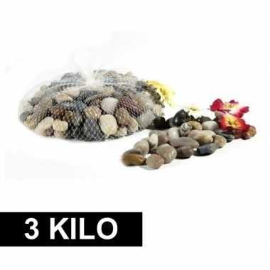 Versiering steentjes in netje 3 kg