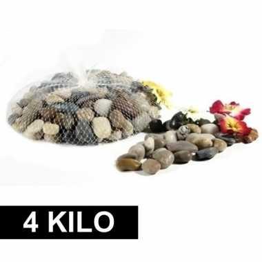 Versiering steentjes in netje 4 kg