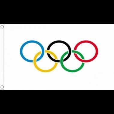 Versiering vlaggen olympische spelen