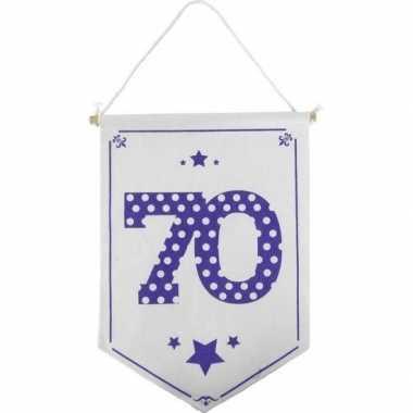 Versiering vlaggetje/vaantje 70 jaar