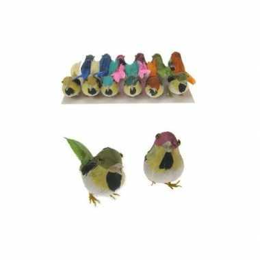 Versiering vogeltje 1 stuk
