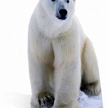 Versieringbordje ijsbeer
