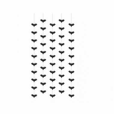 Vleermuizen hangversierings 5 stuks