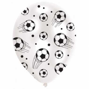 Voetbal thema versiering ballonnen