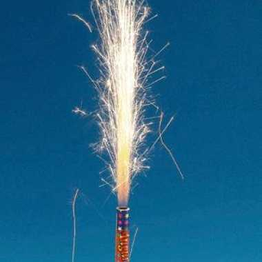 Vuurwerk versiering 4 stuks