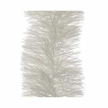Winter witte kerstslinger 10 x 270 cm kerstboom versieringen