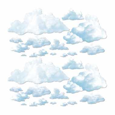 Wolken scenesetter versiering 24 delig