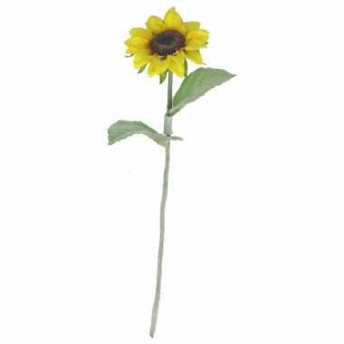 Zonnebloemen versiering 38 cm