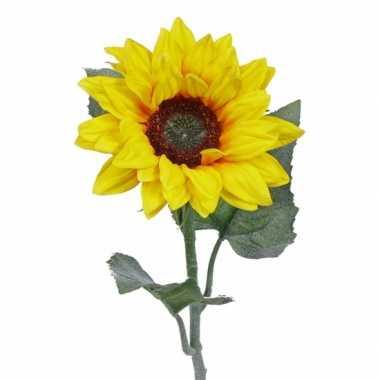 Zonnebloemen versiering 81 cm