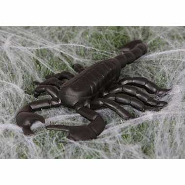 Zwarte versiering schorpioen 20 cm