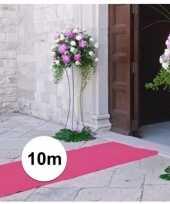 10 meter lichtroze versiering loper 1 meter breed