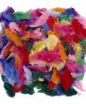 100 gram gekleurde versiering veren
